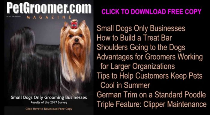 Click to Download Free Copy of PetGroomer.com eMagazine Summer 2017