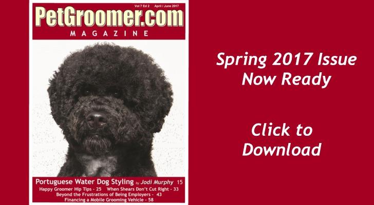 Download PetGroomer.com Magazine Spring 2017